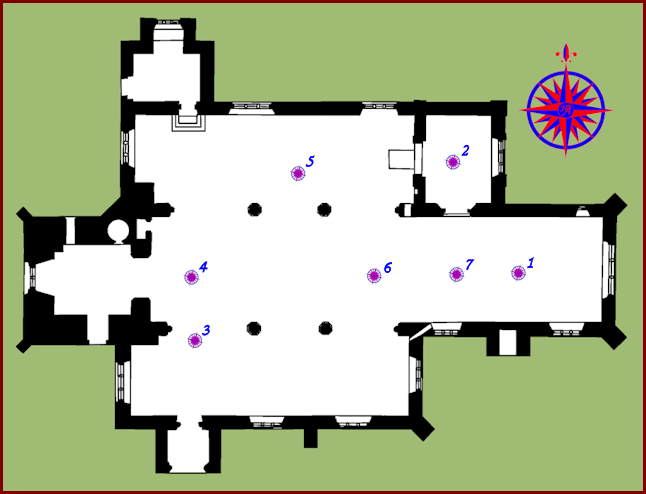 St Mary's Church Map